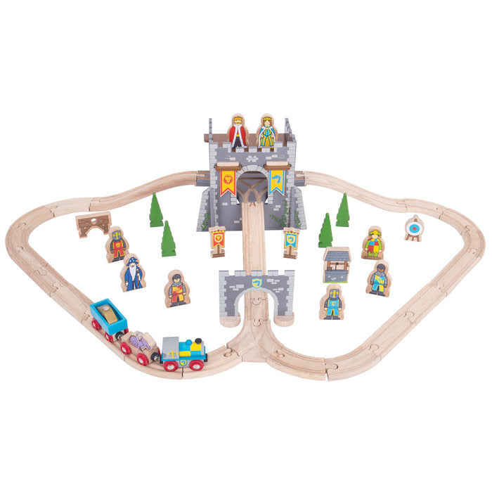 BigJigs Rail Medieval Train Set
