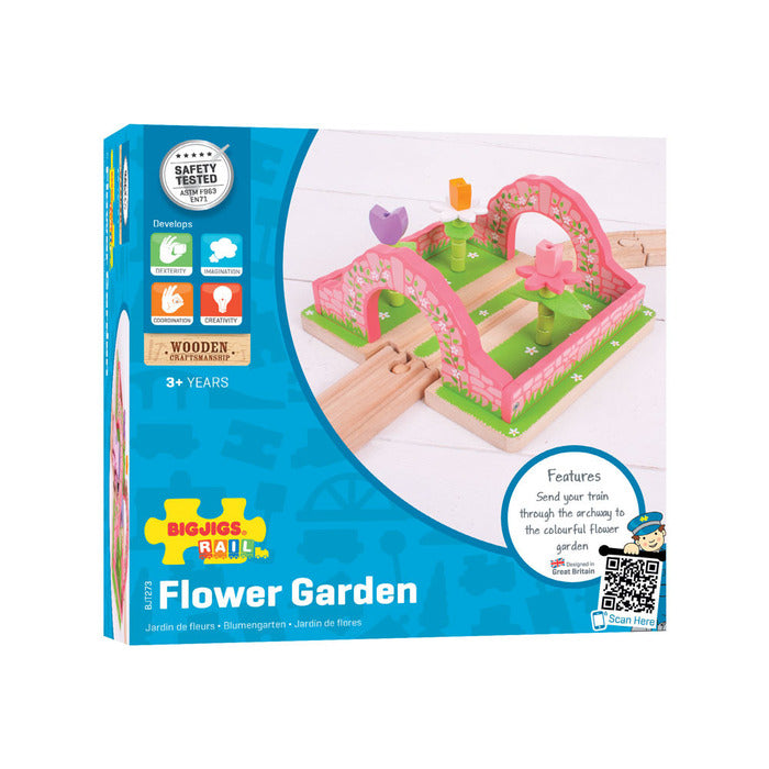 BigJigs Rail Flower Garden