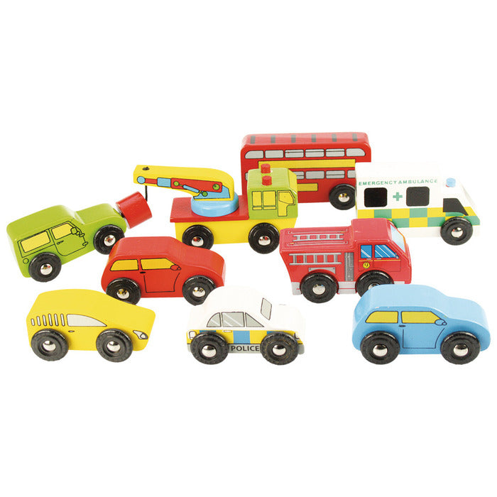 BigJigs Rail Vehicle Pack