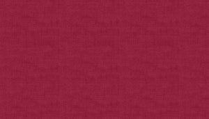 Makower Linen Texture R8 Berry Red