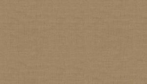 Makower Linen Texture V Golden Brown