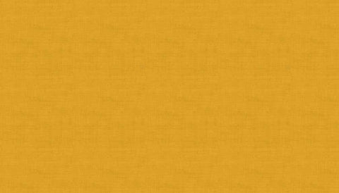 Makower Linen Texture Y7 Golden Yellow