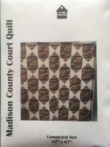 Pattern for Madison County Court Quilt