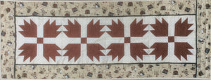 Bears Paw Table Runner