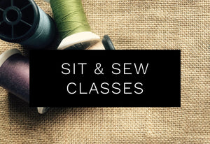 Sit & Sew Classes