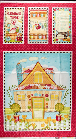 "Lets Sew Fabric Panel - 24"" x 42"""