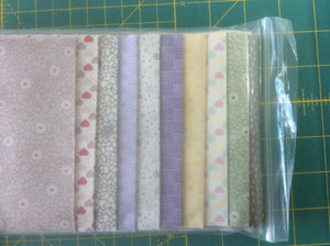 "5"" strip packs - Stars In Harmony fabric - 5"" x 42"" - 10 5"" strips - 1 1/4 mtrs of fabric"