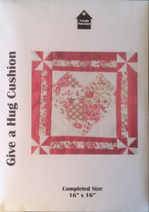 Give a Hug Cushion Pattern