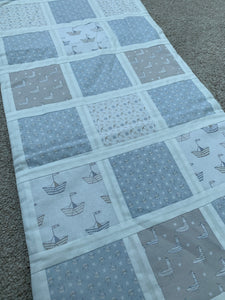 Ready Made - Handmade Patchwork Nautical Table Runner