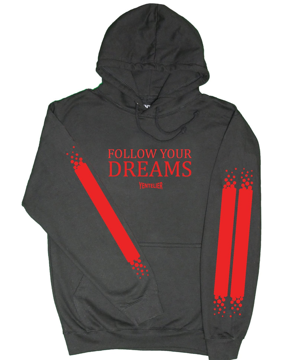 Follow Your Dreams Hoodie - Schwarz