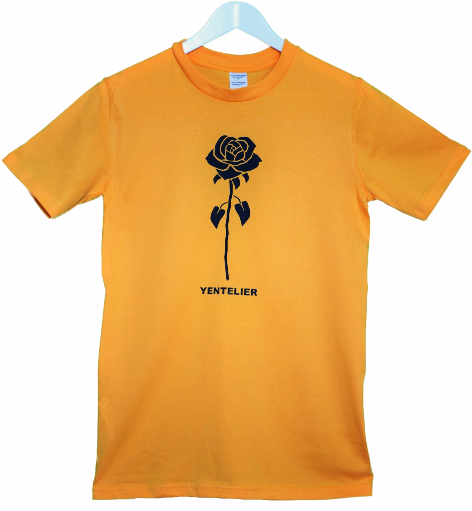 Rose T-Shirt - Gold