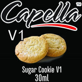 Capella Concentrate Range, Flavour Concentrates, Juice Cartel, Sugar Cookie V1 30ml