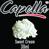 Capella Concentrate Range, Flavour Concentrates, Juice Cartel, Sweet Cream 30ml