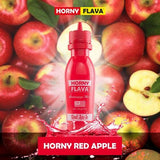 Horny Flava Range - 65ml Ready To Vape, Malaysian E-Liquids, Juice Cartel, Red Apple