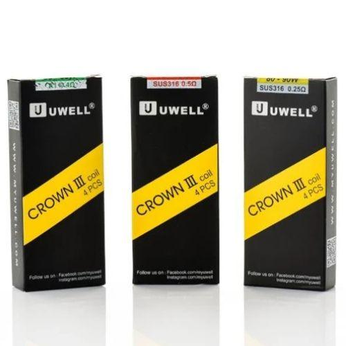 Uwell Crown 3 Replacement Coils - 4 Pack - Juice Cartel