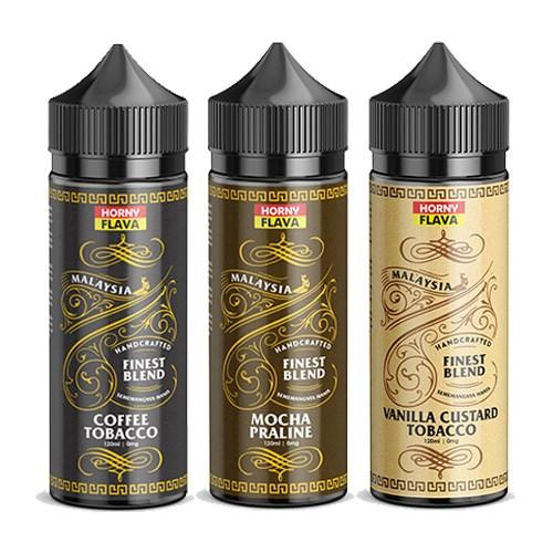Horny Flava Tobacco Range - 120ml Ready To Vape - Juice Cartel