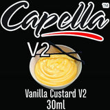 Capella Concentrate Range, Flavour Concentrates, Juice Cartel, Vanilla Custard V2 30ml