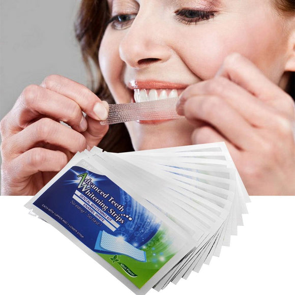 14/28PCS 3D Teeth Whitening Strips - MISTK