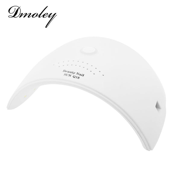 Dmoley 36W SUN Q18 UV LED Nail Lamp 18 LEDs Nail Dryer
