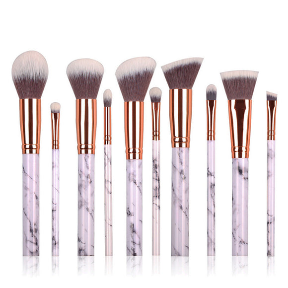 10Pcs Mermaid makeup Brush Set