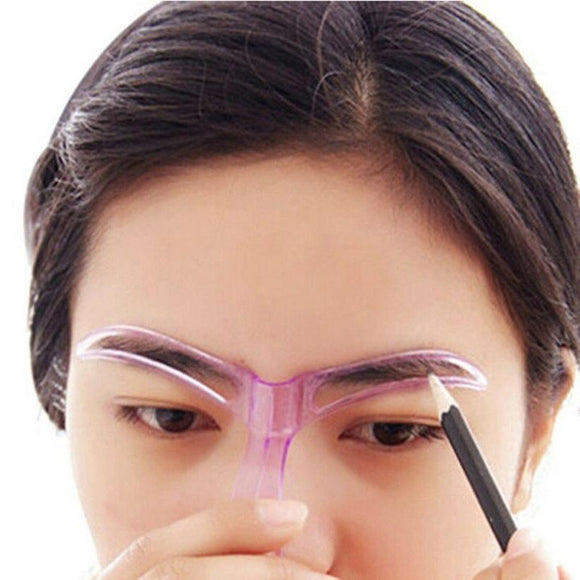 Grooming Drawing Blacken Eyebrow Template