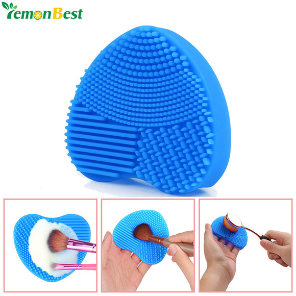 1Pcs Silicone Makeup Brush Cleaning Washing Tools
