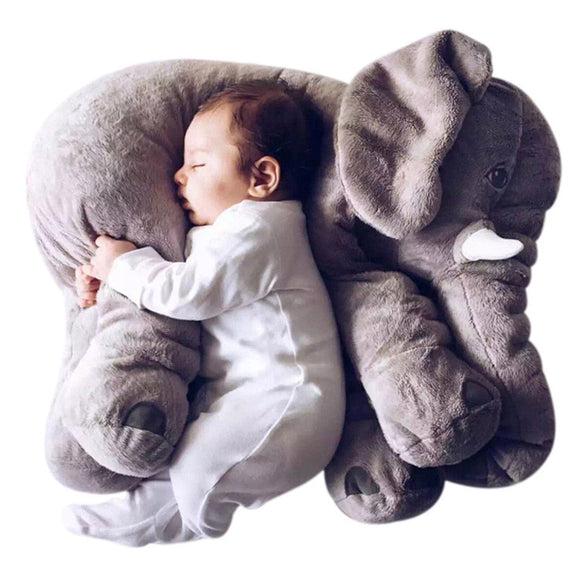 40cm/60cm Elephant Pillow Infant Soft Playmate Calm Doll Baby Toys Top Girl Friend Elephant Plush Toy Stuffed Doll Gift