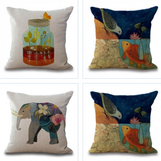 Cute Cartoon Pillow Cases - Awesome Amazing Deals For You
