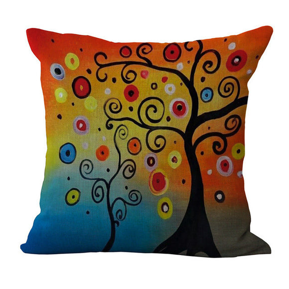 Tree Printed Pillow Cases - Awesome Amazing Deals For You