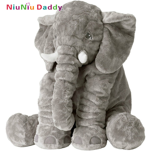 Elephant Pillow Elephant Plush Toys Cute Dolls Soft Pillows Baby Sleeping Plush Pillow doll birthday Gift