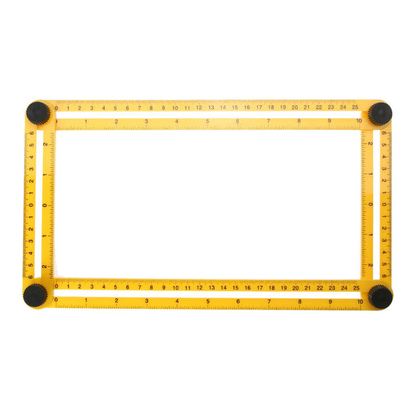 Measuring Instrument angle-izer Template Tool Four-sided Ruler Mechanism Slides For Builders Handymen Craftsmen Engineers Gauges - Awesome Amazing Deals For You