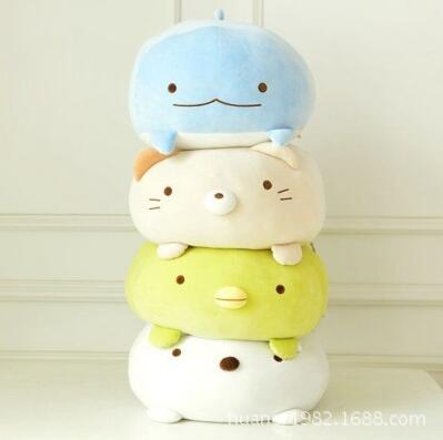 Japanese Animation sumikko doll San-X Corner Bio pillow cute cartoon plush toys Soft Pillow 4 style - Awesome Amazing Deals For You