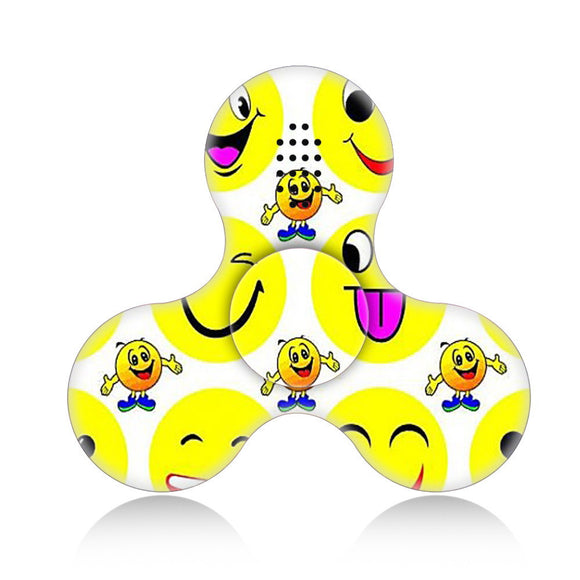 12 Styles Toy Wireless Bluetooth Speakers Fidget Spinner Hand Finger Spinner Triangle EDC Focus Finger Toy kids toys