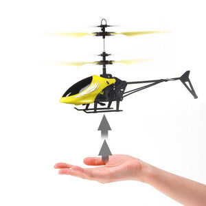RC helicopter Flying Mini RC Infraed Induction Helicopter Aircraft Flashing Light Toys For Kids - Awesome Amazing Deals For You