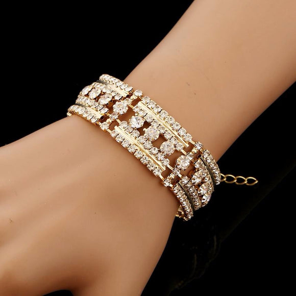 1 PC Fashion Charm Women Cuff Bracelet Bangle Jewelry Gift Fashion feminine bracelet - Awesome Amazing Deals For You