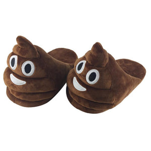 Children Slippers Winter House Shoes Home Floor Soft Slippers Plush Slipper Expression - Awesome Amazing Deals For You