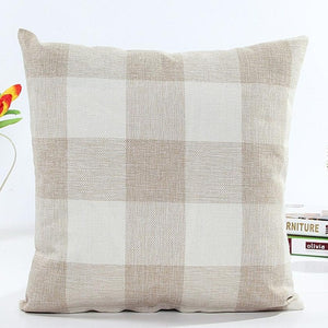 Super Deal home Plaid euro pillow cover pillowcase throw pillows Porcelain pillowcase for the pillow 45*45 XT - Awesome Amazing Deals For You
