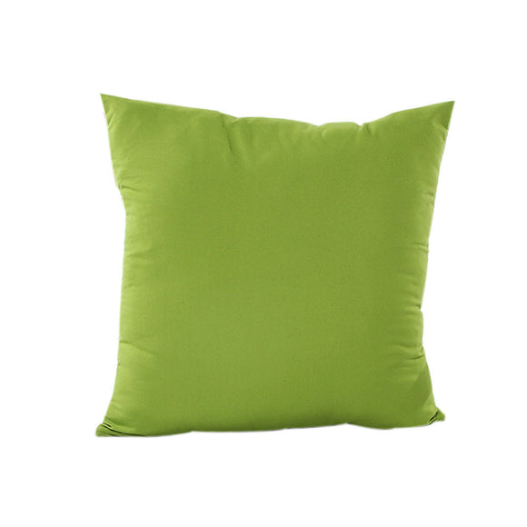 solid color pillowcase decorative throw pillow euro pillow cover pillowcase for the pillow 45*45 - Awesome Amazing Deals For You