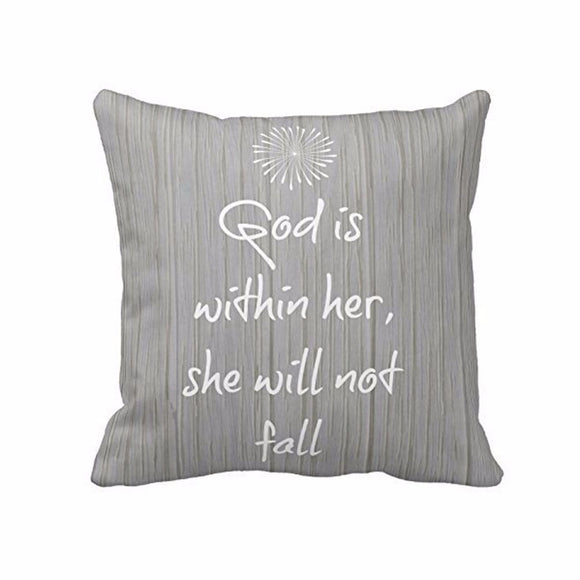 Letters printed Square Throw Pillow Case Cover throw pillows velvet pillow cover - Awesome Amazing Deals For You