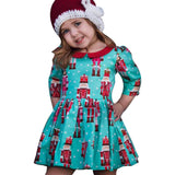 Kids Clothes Hot Selling Children Clothing Toddler Kids Baby Girls Cartoon Princess Party Dress Outfits Dresses