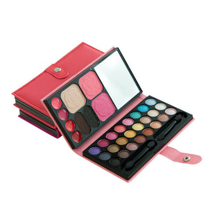33Colors Eye Shadow Makeup Cosmetic Eyeshadow Blush Lip Gloss Powder trimming frozen lip Blush Combination #623