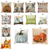 Halloween Thriller pillow  Pumpkin Square Pillow Cover Cushion Case Pillowcase Zipper Closure Square Throw Pillow Case Decorativ - Awesome Amazing Deals For You