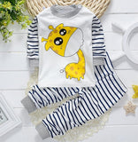 Winter Baby Clothing Set Long sleeve Baby Boy Clothes Brand baby Girl clothes Cotton T-shirt Pants Suit Autumn newborn Clothing
