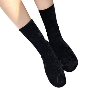 Fashion Women Casual Solid Socks Design Multi-Color Warm Winter