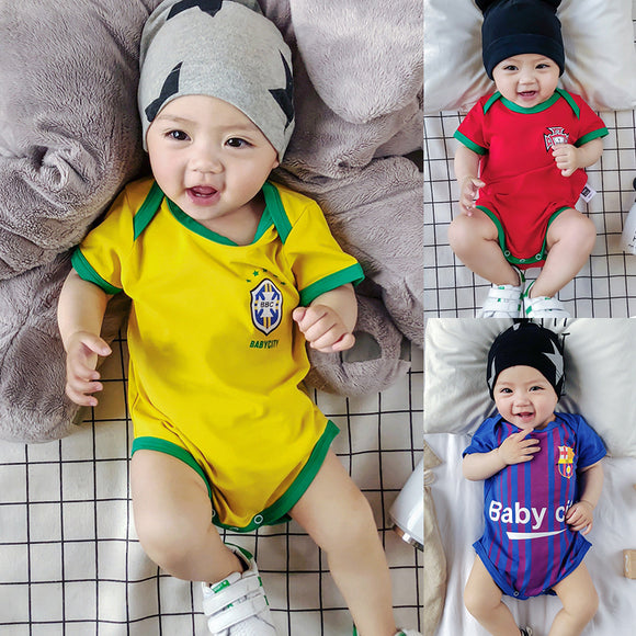 Football Club Jersey Baby Bodysuit