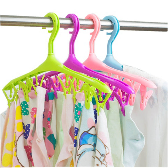 Colorful Clip Hanger (4 pieces)