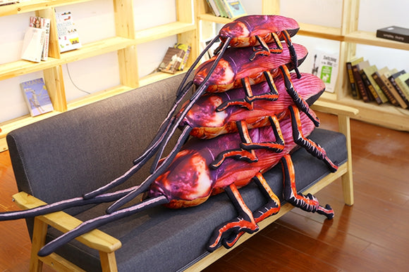Cockroach Shaped Cushion