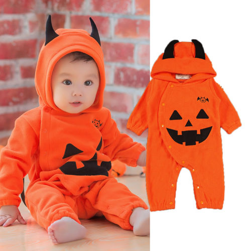 Halloween Baby Pumpkin Costume