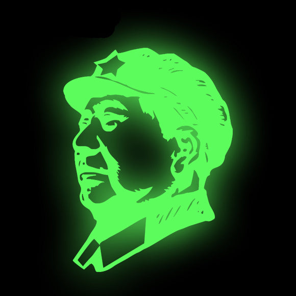 Ironing Sticker (Chairman Mao Luminous patch)