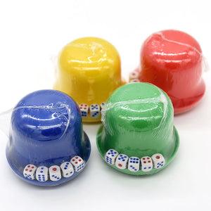 5pcs Dice with Dice Cup